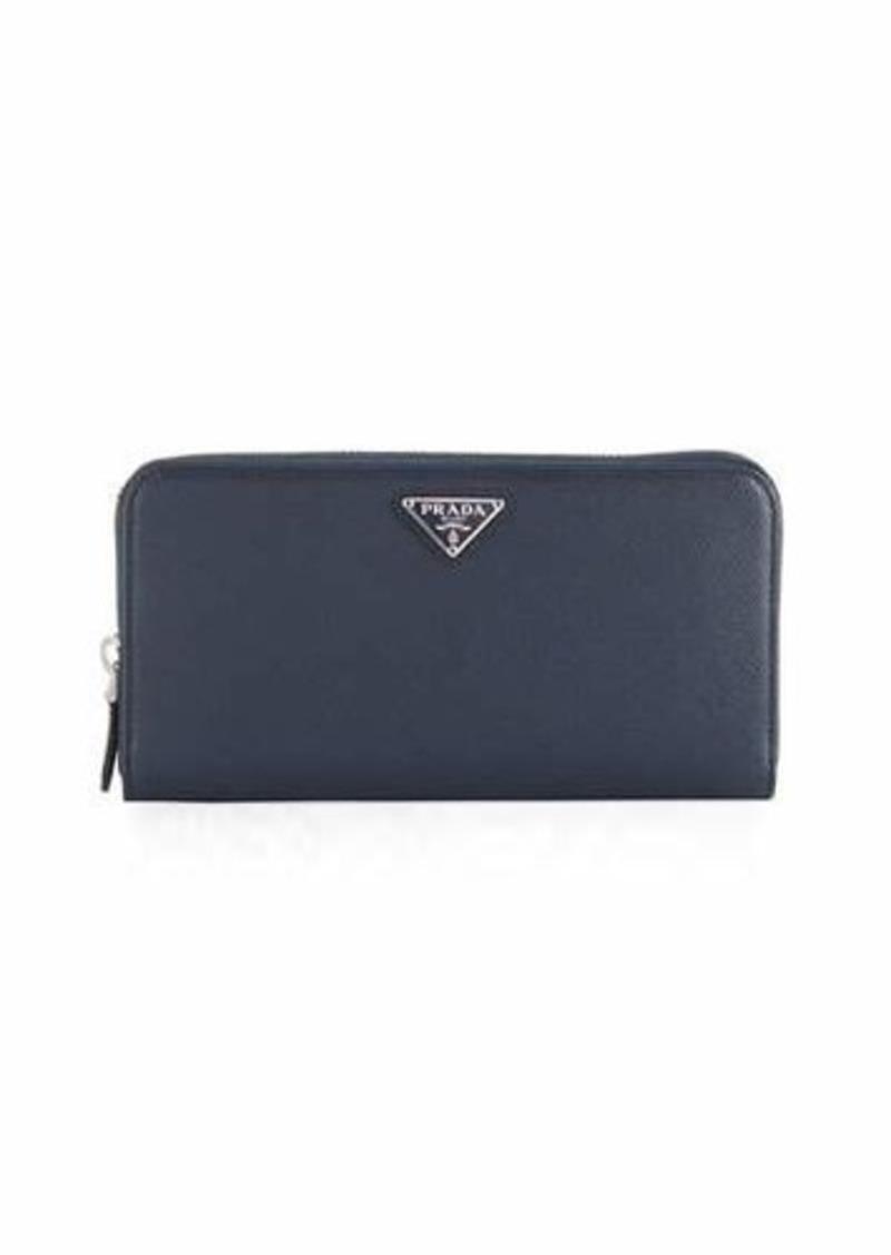 b91f1b1ab653fe Prada Prada Saffiano Zip-Around Organizer Wallet | Handbags
