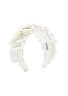 Prada Sequinned satin headband