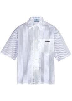 Prada Short-sleeved striped shirt