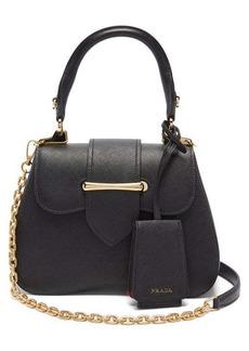 Prada Sidonie mini saffiano-leather cross-body bag