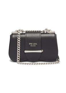 Prada Sidonie mini saffiano-leather shoulder bag