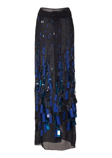 Prada Skirt With Embroidery