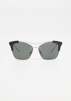 Prada Sleek Square Sunglasses