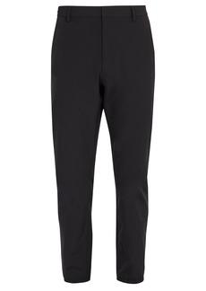 Prada Slim-leg nylon trousers