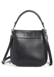 Prada Small City Leather Hobo Bag