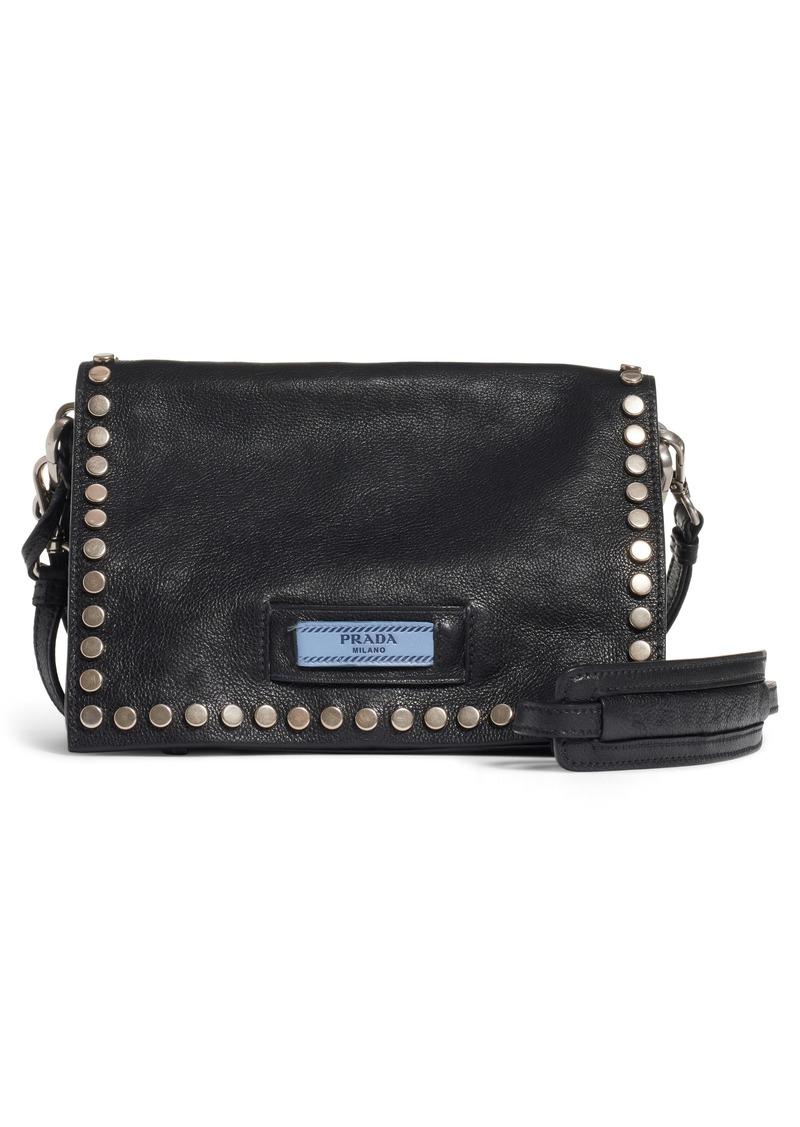 df861ddc4afa Prada Prada Small Stud Etiquette Shoulder Bag | Handbags