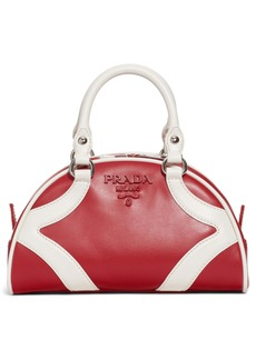 Prada Small Leather Bowler Bag