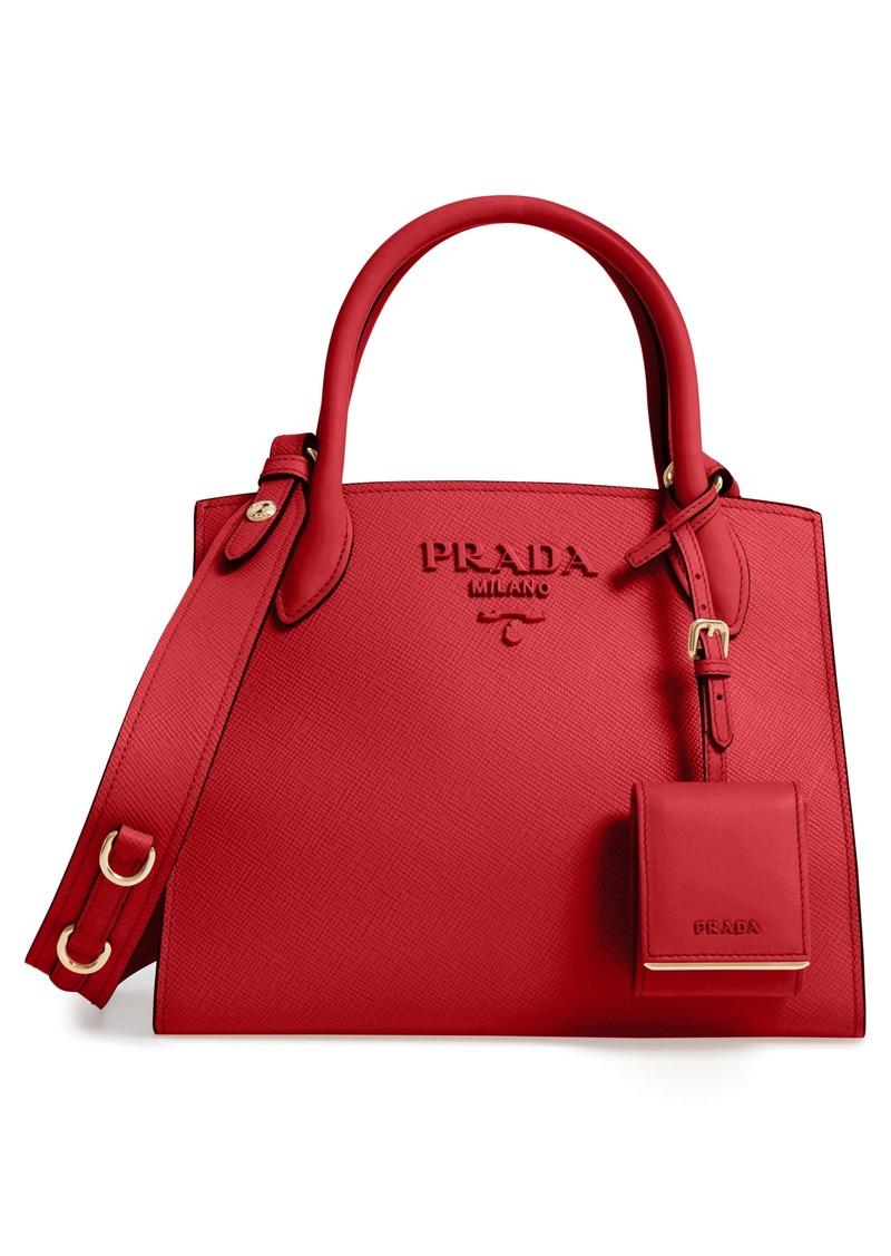 315293bdf4ab Prada Prada Small Monochrome Tote | Handbags