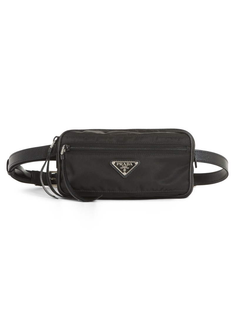 Prada Small Nylon Belt Bag