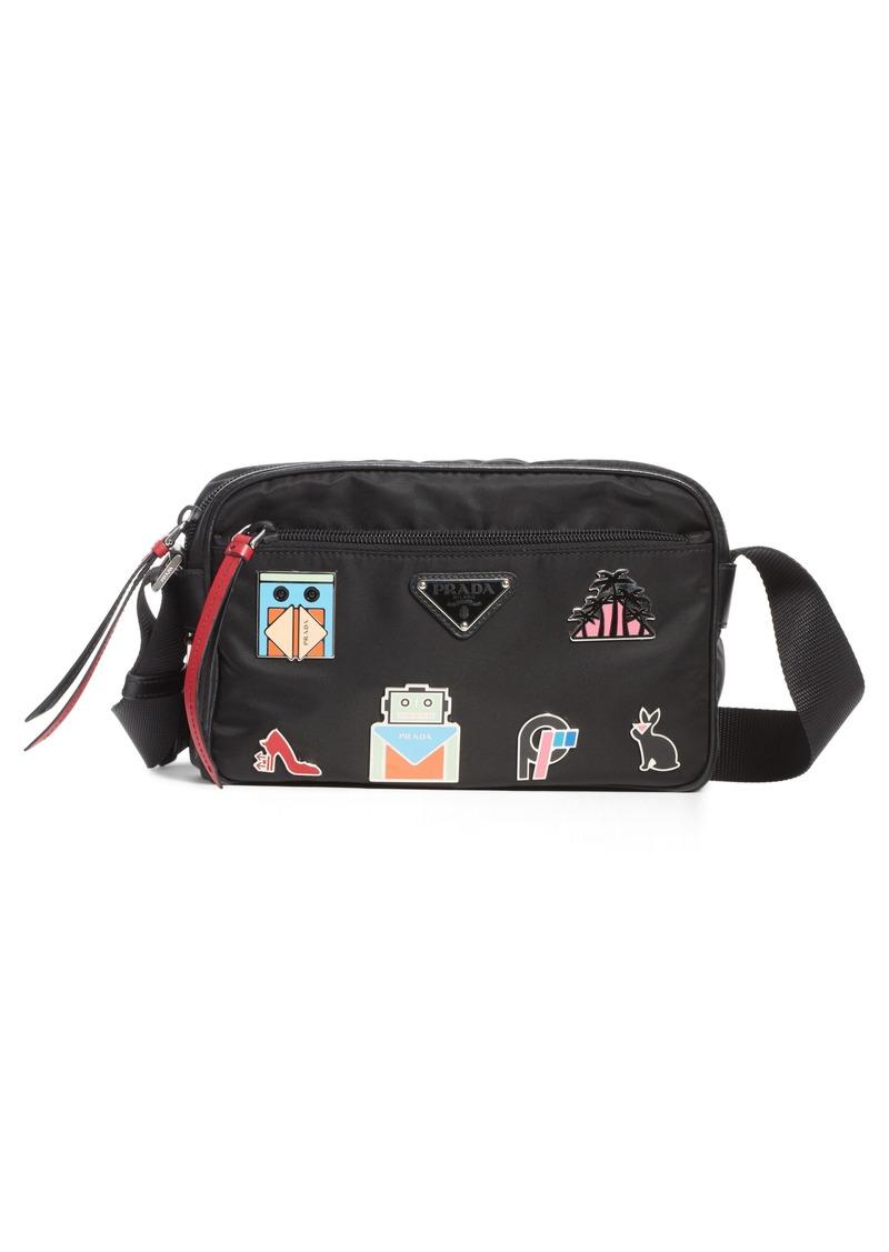 19ecb1df4d24 Prada Prada Small Nylon Crossbody Bag | Handbags