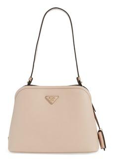 Prada Small Promenade Saffiano Calfskin Shoulder Bag