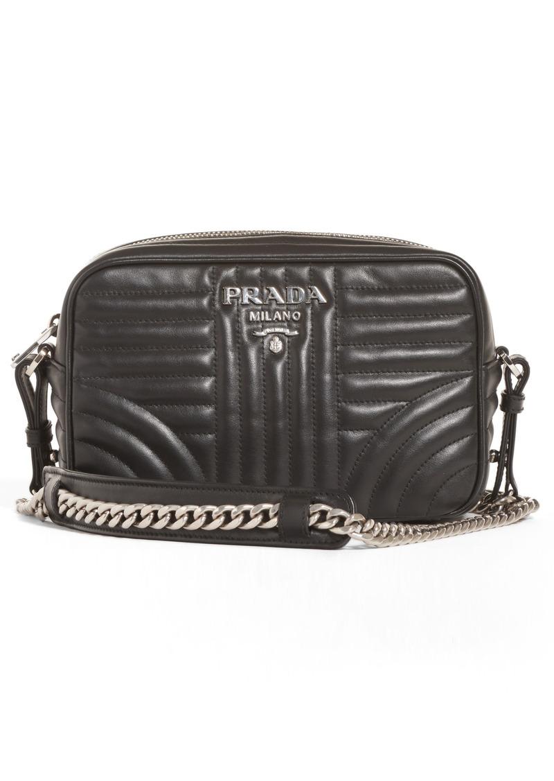 0299ef727b81 Prada Prada Small Quilted Leather Camera Bag