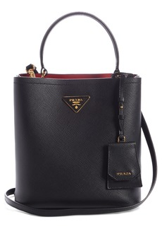 Prada Small Saffiano Leather Bucket Bag