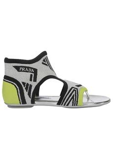 Prada Sock Ankle Sandals