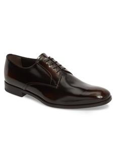 Prada Spazzalato Plain Toe Derby (Men)