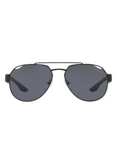 PRADA SPORT 59mm Aviator Sunglasses