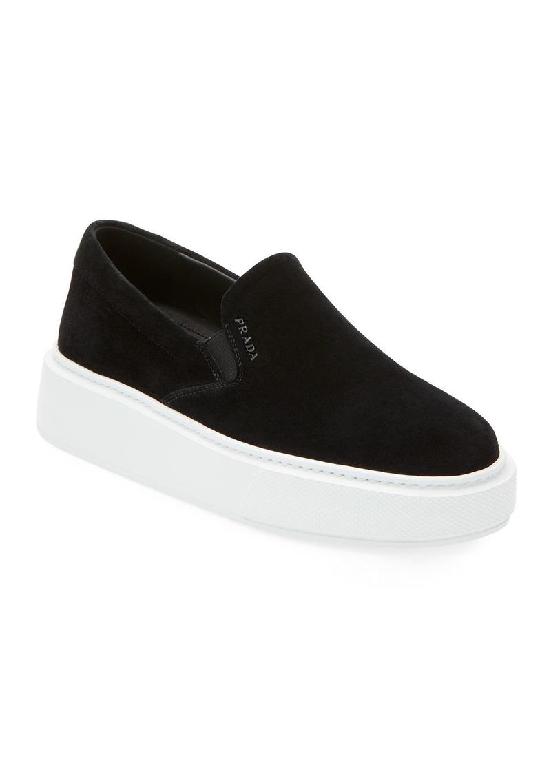 Prada Sport Suede Slide Sneakers