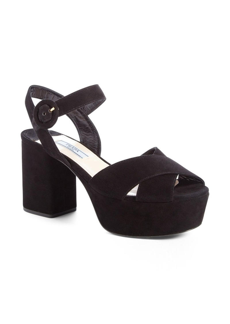 ef94ac124a9 On Sale today! Prada Prada Strappy Platform Sandal (Women)