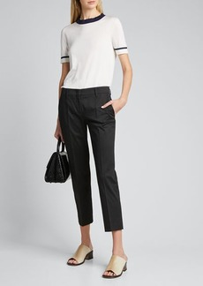 Prada Stretch Cotton Classic Pants