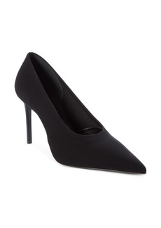 Prada Stretch Knit Pointed Toe Pump (Women)