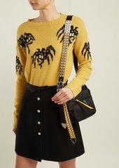 67e84023e8e0 Prada Prada Stud-embellished strap nylon cross-body bag | Handbags