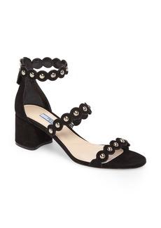 Prada Studded Ankle Strap Sandal (Women)