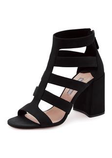 Prada Suede Multi-Strap Sandal