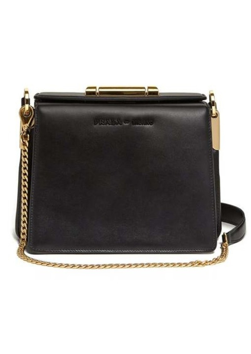 Prada Sybille leather cross-body bag