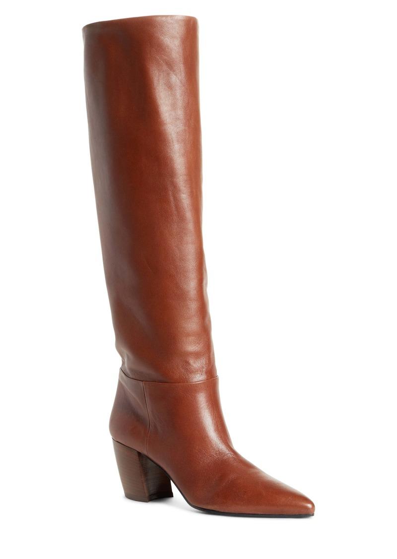 Prada Tall Pointy Toe Boot (Women)