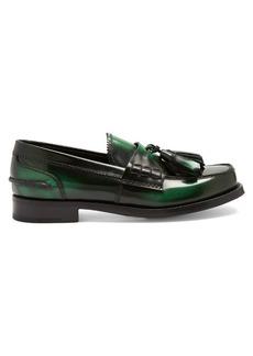 Prada Tassel leather loafers