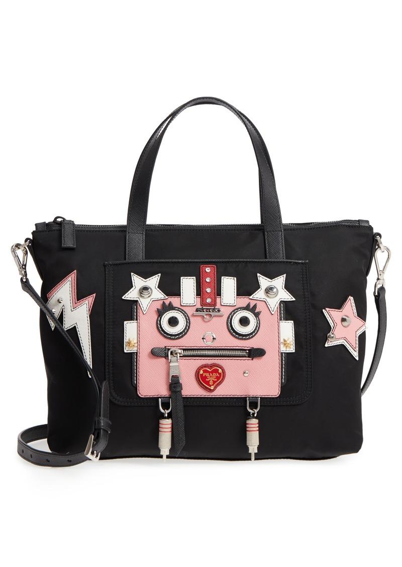 45c21401cb Prada Prada Tessuto Robot Nylon Tote | Handbags