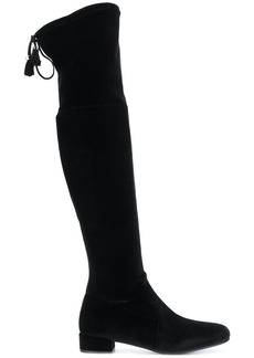 Prada thigh high boots - Black