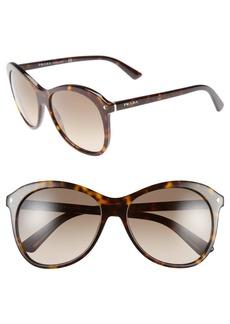 Prada 'Timeless Conceptual' 57mm Sunglasses