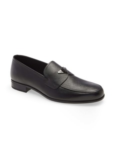 Prada Triangle Logo Loafer (Men)