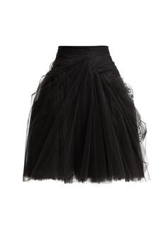 Prada Tulle layered mini skirt