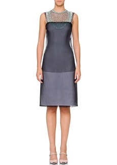 Prada Two-Layer Poplin Dress
