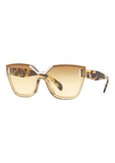 Prada Two-Tone Butterfly Sunglasses