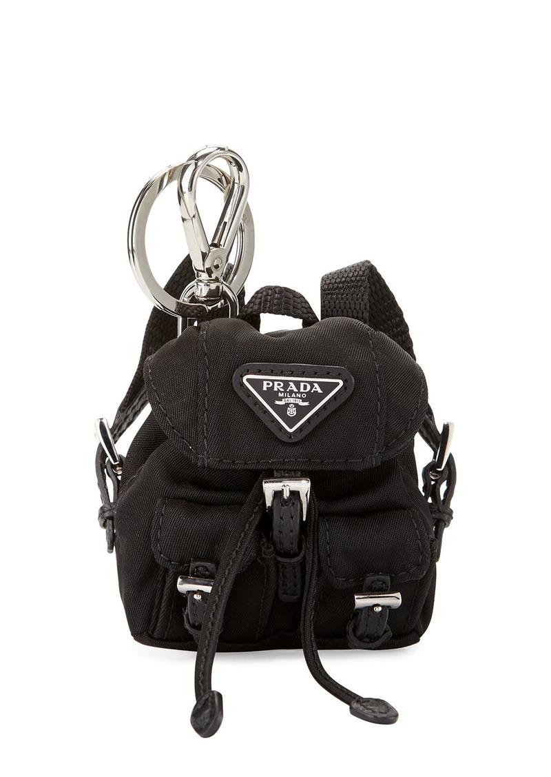 74e311d5e9adaf On Sale today! Prada Prada Vela Backpack-Shaped Handbag Charm/Keychain