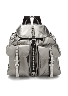 Prada Vela laminated nylon backpack