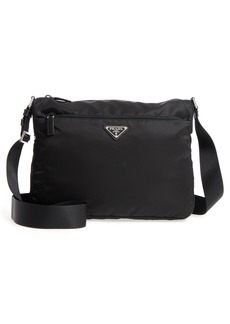 Prada Vela Nylon Crossbody Bag