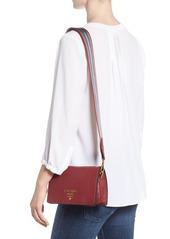 0d2da16498fb Prada Prada Vitello Daino Double Compartment Leather Shoulder Bag ...