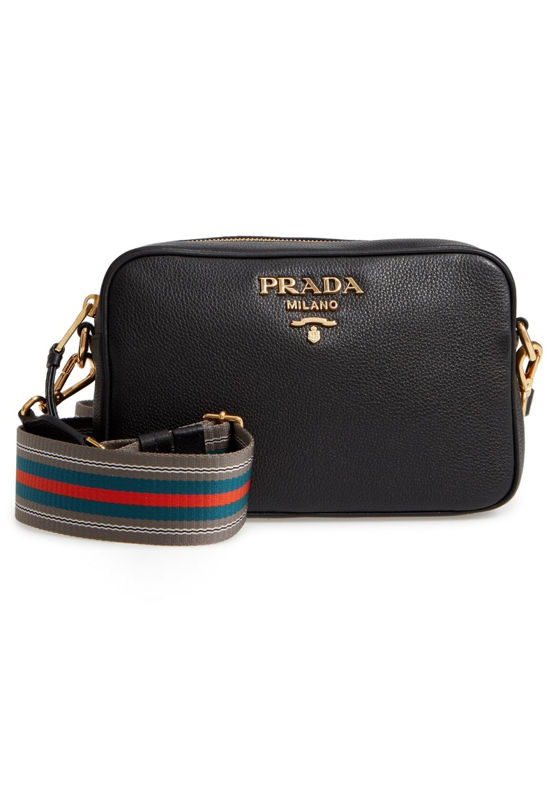 Prada Vitello Daino Leather Camera Bag