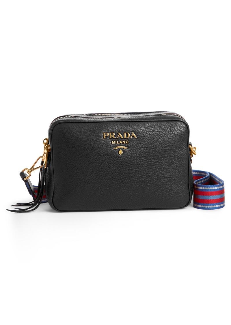 e9f15f81b418 Prada Prada Vitello Daino Leather Camera Bag