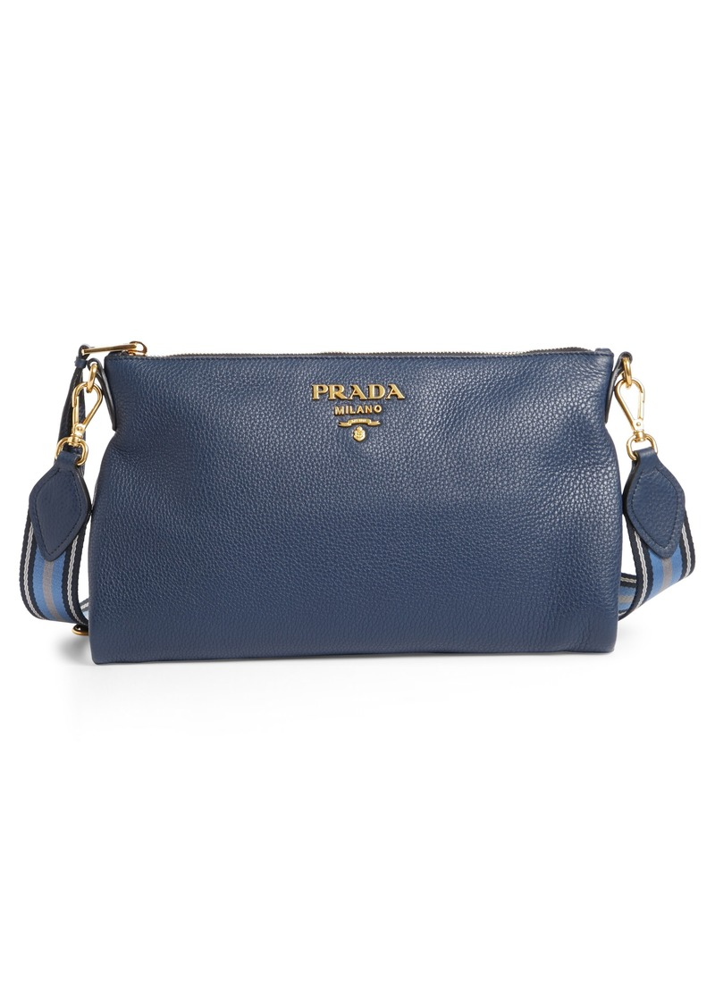 fc7270c7f956 Prada Prada Vitello Daino Leather Crossbody Bag