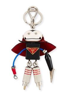 Prada Vlad Robot Key Chain  Black