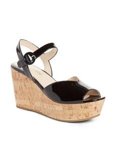 Prada Wedge Platform Sandal (Women) (Nordstrom Exclusive)