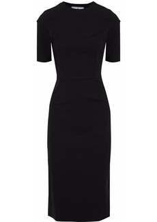 Prada Woman Cotton-blend Poplin Dress Black