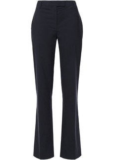 Prada Woman Wool Slim-leg Pants Midnight Blue