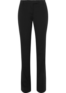 Prada Woman Wool Slim-leg Pants Black