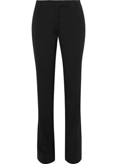 Prada Woman Wool Slim-leg Pants Black